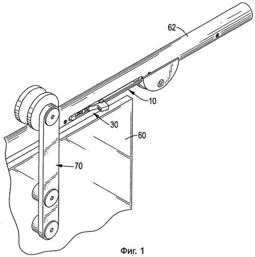 Устройство для мягкого закрывания раздвижной двери