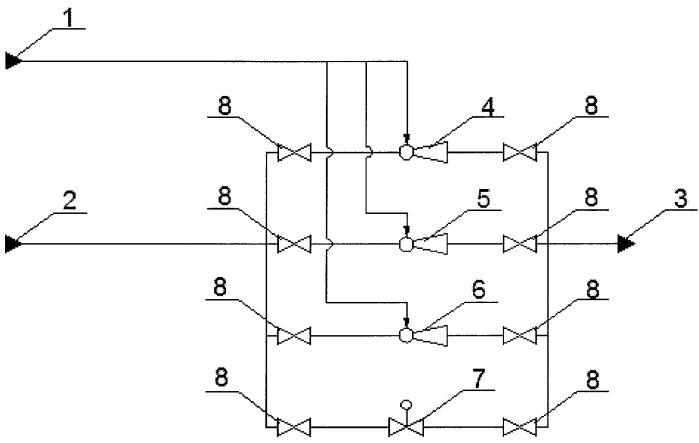Система и способ регулируемого поднятия давления низконапорного газа