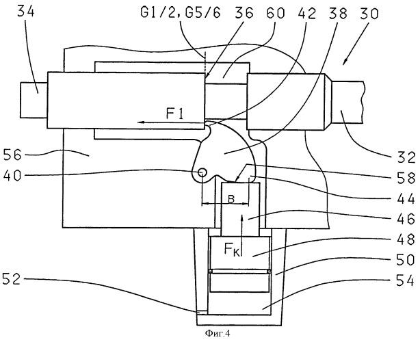 Механизм переключения передач с переменным блокирующим усилием, препятствующим неправильному переключению передач