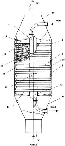 Утилизационный водоподогреватель