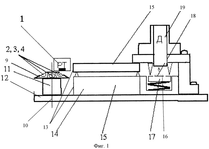 Рентгенофлуоресцентный спектрометр с полным внешним отражением