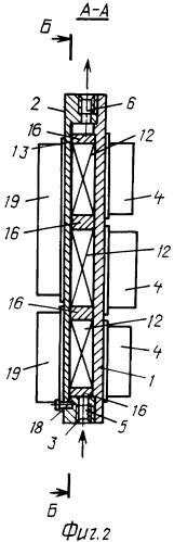 Охладитель силовых электронных модулей