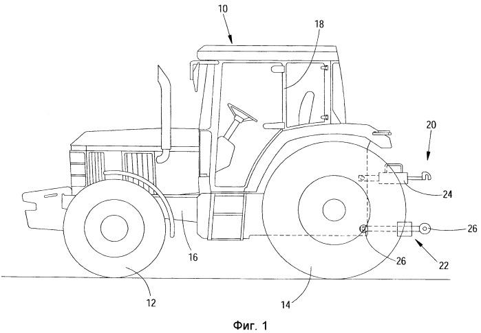Нижняя тяга для навески трактора