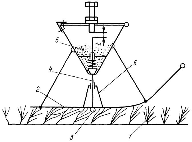 Способ подсева семян трав