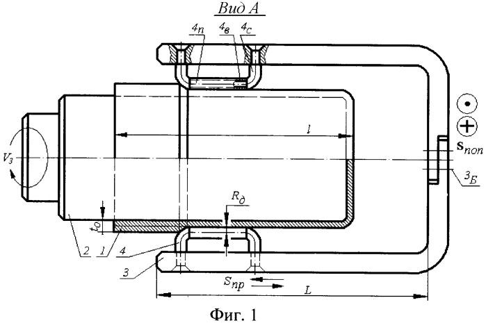 Статико-импульсный давильный инструмент