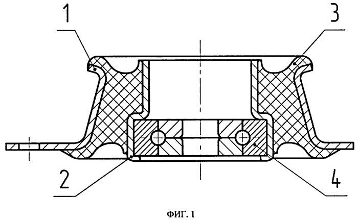 Верхняя опора направляющей пружинной стойки передней подвески автомобиля и способ ее сборки