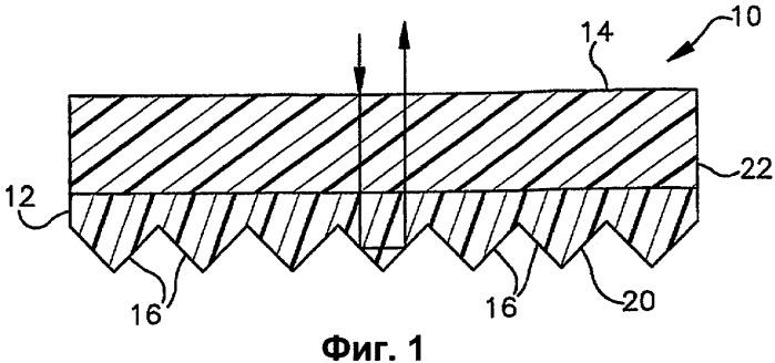 Флуоресцентное изделие, имеющее множество слоев