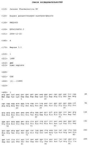 Анализ диацилглицерин-ацилтрансферазы