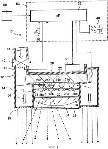 Арматура санитарно-техническая с блоком светоизлучающих элементов