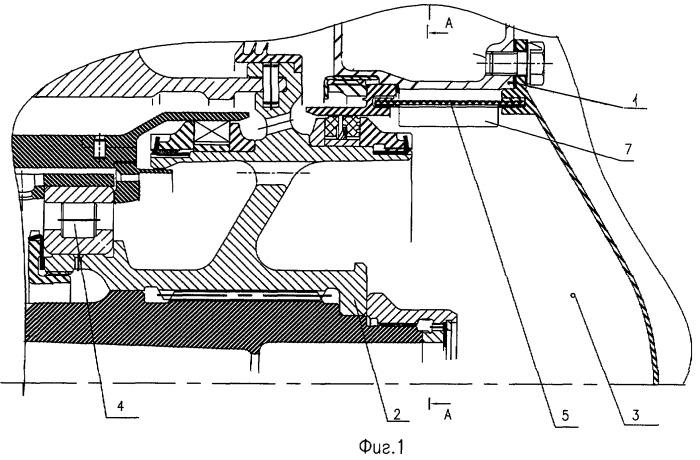 Устройство для отвода масла из опоры ротора турбомашины