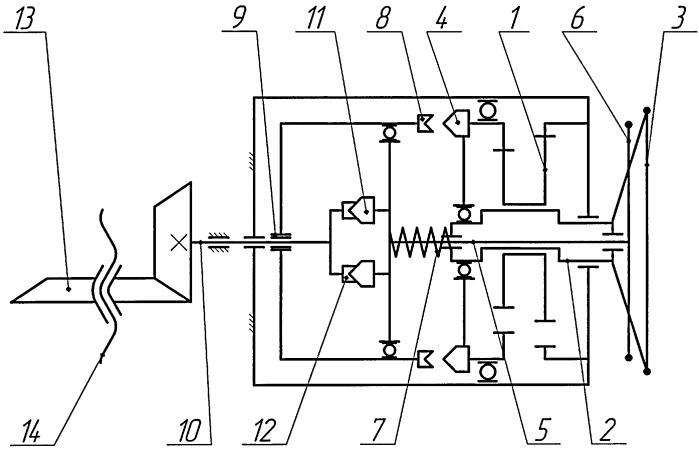 Силовая ступень для ручного привода трубопроводной арматуры