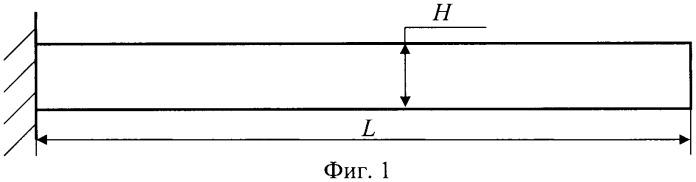 Способ определения координаты, длины и глубины раскрытой трещины упругой консольной балки