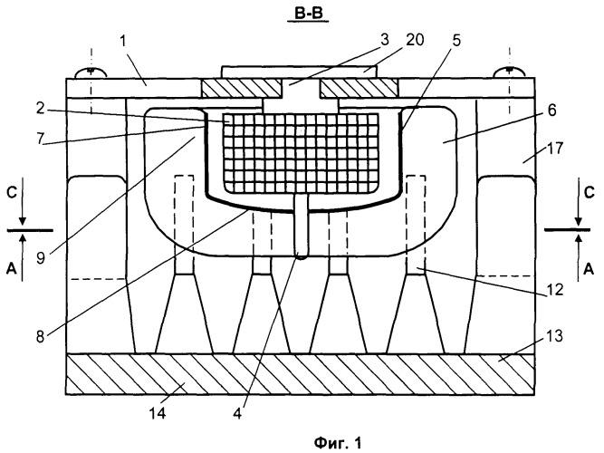 Устройство теплоотвода от электронных приборов и вентилятор устройства теплоотвода от электронных приборов (варианты)