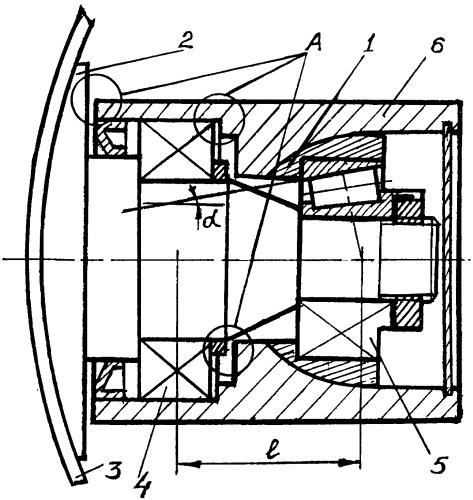 Подшипниковый узел почвообрабатывающего диска