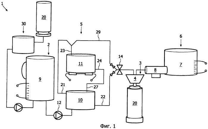 Устройство для приготовления напитка с заданной температурой употребления из стерилизованной воды