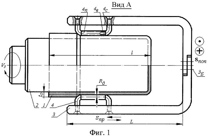 Способ статико-импульсной давильной обработки