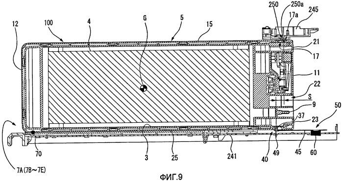 Контейнер с жидкостью, держатель для контейнеров и устройство расходования жидкости