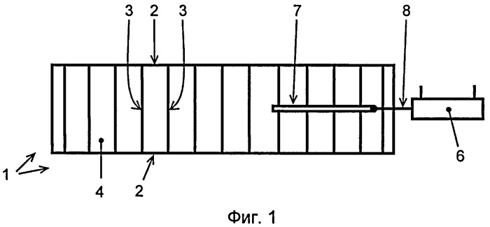Конвейер с прерывистым движением тягового органа