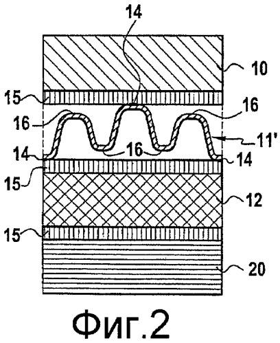 Паяное соединение между металлической деталью на основе титана и деталью из керамического материала на основе карбида кремния (sic) и/или углерода