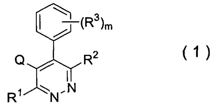Соединение пиридазина и его применение