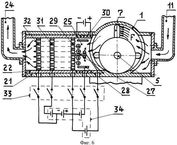Атмосферный ионный двигатель