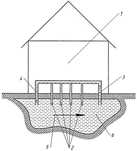 Способ использования теплоаккумуляционных свойств грунта