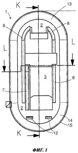 Компонент для закрепления на стенке и корпус бытового прибора, оборудованный таким компонентом