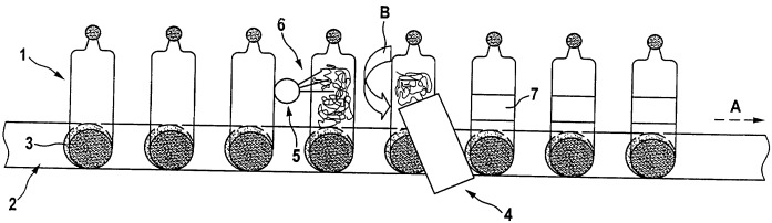 Этикетка со слоем чувствительного к воздействию жидкости клея