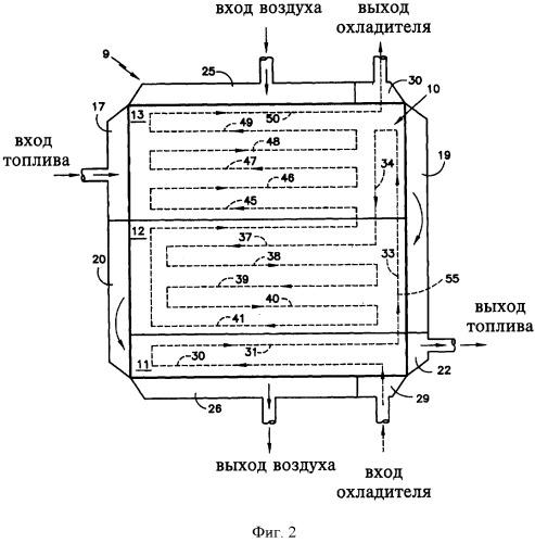 Система топливных элементов