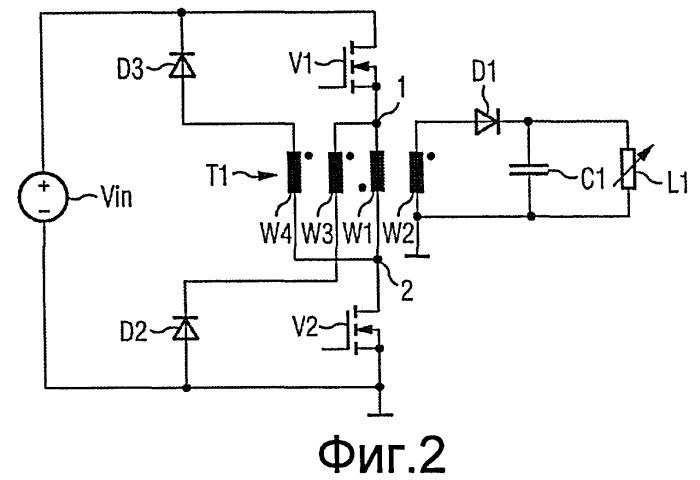 Переключающее устройство для пониженной нагрузки переключателя