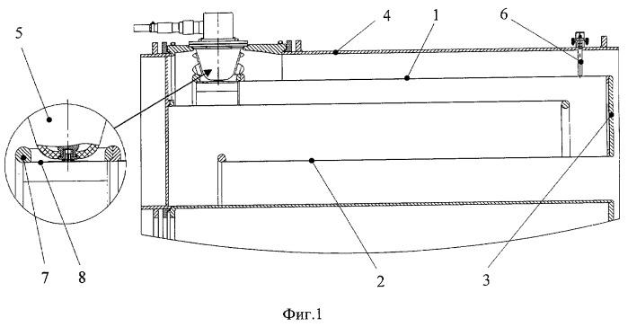 Высоковольтный электрод двойной ступенчатой формирующей линии