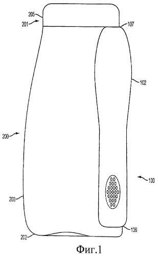 Контейнер для средства для чистки зубов с держателем устройства для ухода за полостью рта