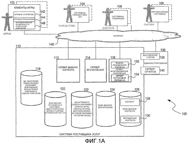 Представление потокового видео, например, в среде видеоигр или мобильных устройств