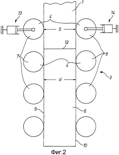 Способ непрерывной разливки металлической заготовки