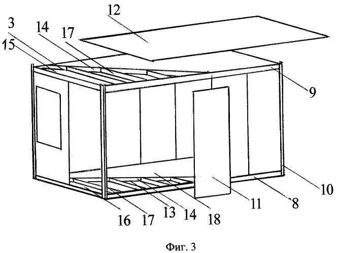 Способ изготовления блок-контейнеров