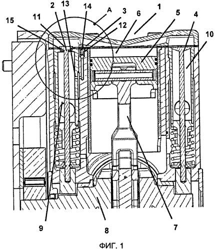 Двигательная установка с двигателем внутреннего сгорания и не требующей регулирования автоматически запускаемой поршневой машиной