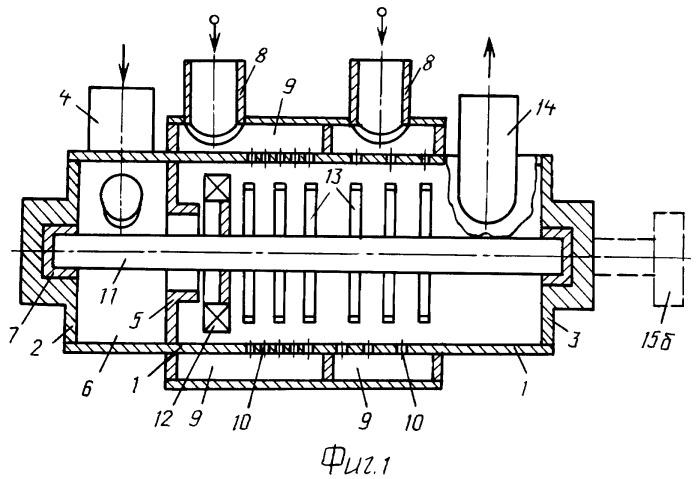 Аппарат, выполняющий функции тепломассообменника, турбины и насоса - ттн