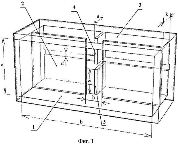 Резонансное ближнеполевое устройство для свч микроскопа