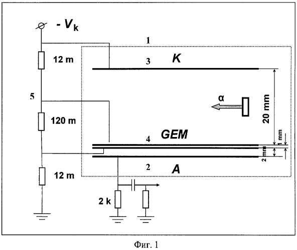 Многоканальный газовый электронный умножитель
