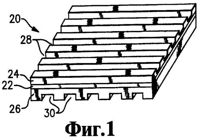 Узел разделительной пластины топливного элемента (варианты) и способ его изготовления