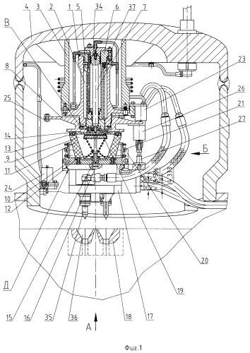 Устройство для дистанционной управляемой стыковки разъемных соединителей коммуникаций