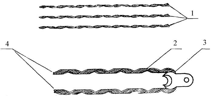Способ изготовления спиральных зажимов с протектором