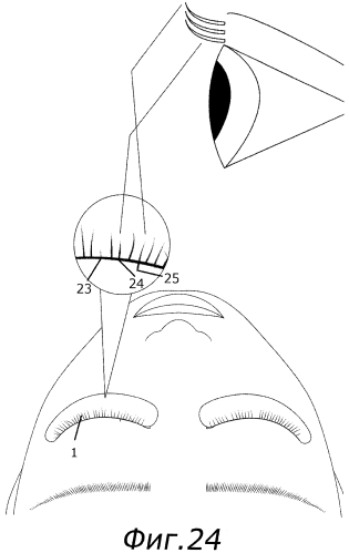 Способ наращивания ресниц