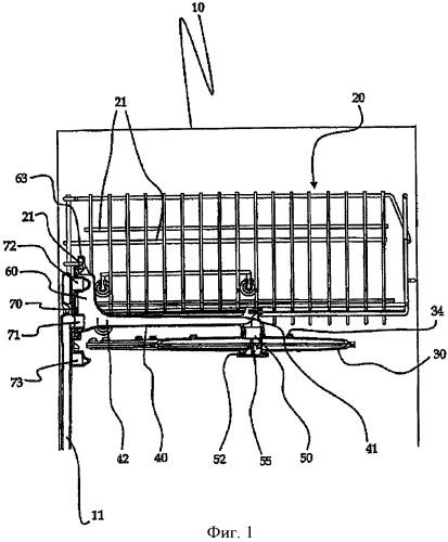 Бытовая моечная машина, в частности посудомоечная машина с усовершенствованным верхним гидравлическим контуром