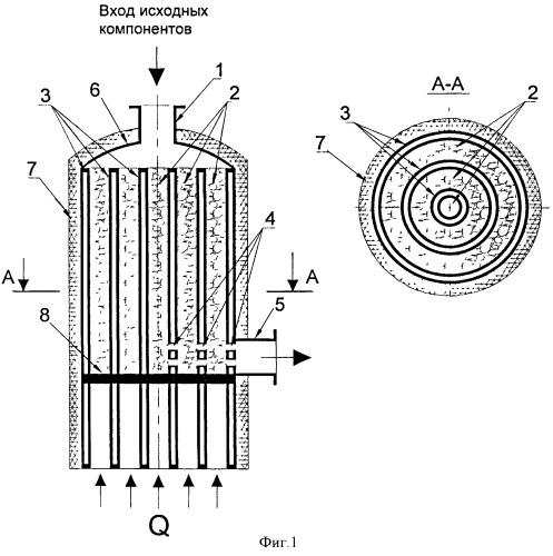 Конвектор для осуществления газофазных каталитических процессов