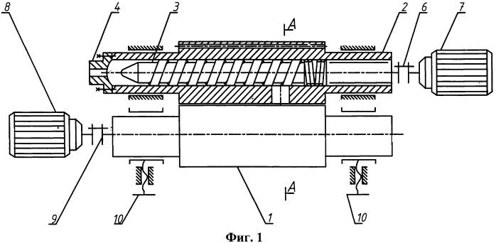 Валково-шнековый агрегат