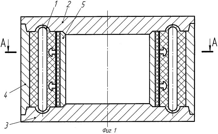 Способ формования и вулканизации баллона шинно-пневматической муфты и пресс-форма для его осуществления