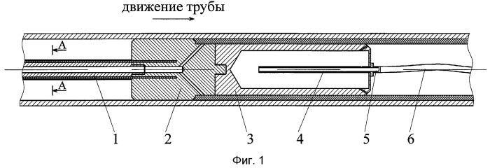 Устройство для нанесения термопластичных покрытий на внутреннюю поверхность металлических труб