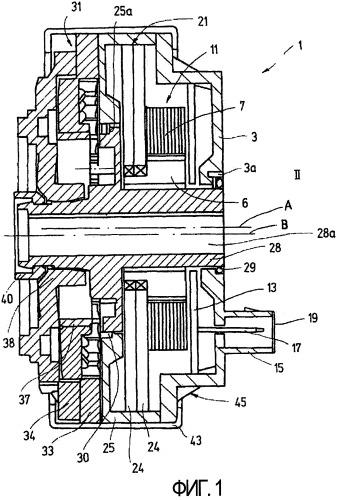 Исполнительный привод двигателя для автомобильного сиденья