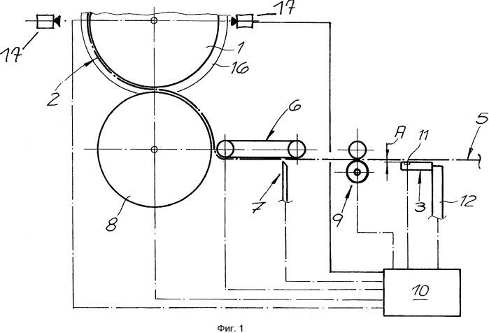 Способ и устройство для периферийного этикетирования емкостей и емкость